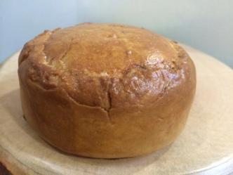 Homemade pork pie