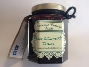 Blackcurrant jam £2.50