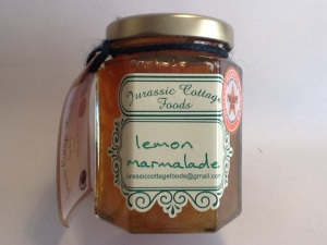 Lemon marmalade £2.50.  12 oz